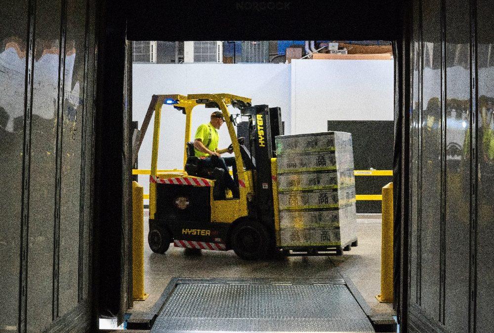 SAFETY CORNER: Staying safe while working around forklifts